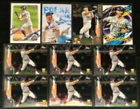 Pete Alonso - 10 Cards -2021 Series 1, 2020 Topps Chrome Update , Archives, Fire