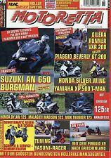 Motoretta 76 2002 Aprilia Scarabeo 500 Gilera Runner VXR 200 Vespa Ape Porter XP
