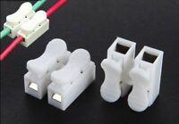10-20 Pièce 2 Broches Ressort de Compression Bornier Raccord / Connexion Câble
