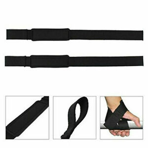 Weight Lifting Wrist Support Strap Wrap Sport Bodybuilding Tra Hot 55cm X4R6
