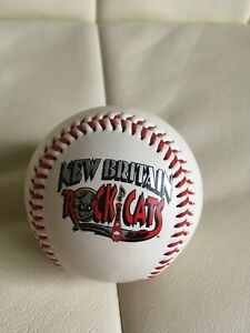 New Britain Rock Cats McDonalds Signed Logo Baseball Vinyl Cover