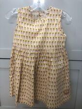 Smiling Button Girls Hula Girl Tropical Dress Euc Size 7
