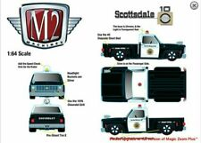 M2 Machines 1976 Chevy Silverado Scottsdale Police Patrol Hobby Exclusive