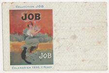 Collection Job, Calendrier 1895, G. Meunier Postcard, B382