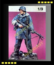 Resin Model Kit Kirin German MG42 Gunner Totenkopf,Kharkov 1/9 figure - K22001