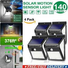 4Pack 140LED Solar Power Spotlight Garden Lawn Lamp Landscape Light 3 Modes IP65