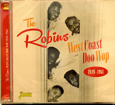 THE ROBINS 'West Coast Doo Wop 1949-1961'- 2CD Set-Jasmine