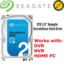 2TB/2000GB disco rigido Seagate Sorveglianza 7200 RPM di cache 64 MB SATA ST2000VX005