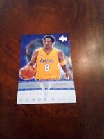 2002-03 upper deck Kobe Bryant insert lakers