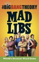 THE BIG BANG THEORY MAD LIBS - MARCHESANI, LAURA - NEW PAPERBACK BOOK