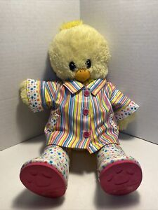Build a Bear Workshop Spring Chick Plush 16in Chicken With Rain Coat & Boots
