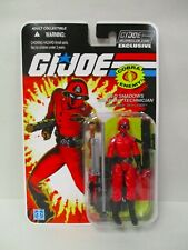 G.I. JOE COLLECTOR'S 8.0 CLUB EXCLUSIVE FSS 25TH RED LASER ACTION FORCE FIGURE
