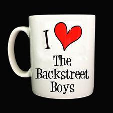 NEW I LOVE HEART THE BACKSTREET BOYS GIFT MUG CUP PRESENT MUSIC FAN BAND