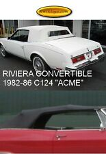 "BUICK RIVIERA CONVERTIBLE TOP 1982-86 ""ACME"""