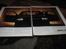 Fiat Uno inc Turbo advert, also Compomotive alloys advert, Bridgestone tyre ad