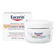 Eucerin Q10 Anti-Wrinkle Sensitive Skin Creme 1.7 oz (48 g)