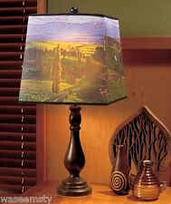 Photo Real Country View Scene Landscape Table Lamp Light Accent Decor