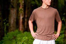 100% Bamboo Men's Athletic Running Short Sleeve Shirt - Creex Activewear