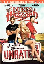 The Dukes of Hazzard (DVD, 2005, Unrated, Widescreen Edition) Johnny Knoxville
