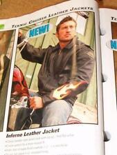 Teknic 'Inferno' Large Men's Leather Riding Jacket-$299