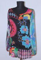 Desigual 27C2227 womens multicoloured blouse shirt Size S