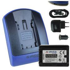 Baterìa + Cargador (USB) VW-VBT190 / VBT190 para Panasonic HC-V130,V160,V180
