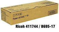 NEW OEM Genuine Ricoh 411744 / B695-17 Fuser Oil Unit Type P TK36 18k