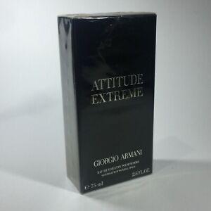 Giorgio Armani Attitude Extreme 75ml edt Spray BNIB