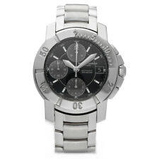 Baume & Mercier Capeland Chronograph Stainless Steel Swiss Automatic Wrist Watch