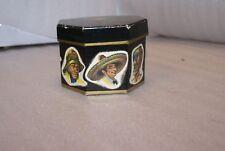 Vintage Miniature Biltmore Lowboy Hat Black Plastic Salesman Sample