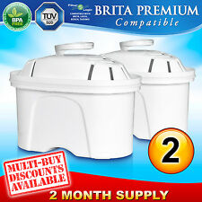 2 x FL402 Replacement Water Filter Compatible with Brita Maxtra Jug Cartridge