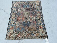 3x4ft. Antique Caucasian Shirvan Wool Rug