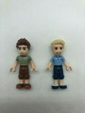 Genuine LEGO Friends 2 Nonspecific Male Minifigures Mix and Match