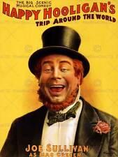 STADIO TEATRO VAUDEVILLE happy hooligan Irlandese USA Vintage Poster Art Print 939py
