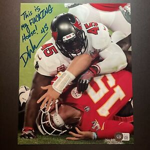 Devin White Signed Autographed 8x10 Photo Beckett BAS Insc Buccaneers SB Champs