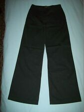 """Calvin Klein Jeans Black Flared Casual Trousers Size 26"""" W - 31""""L"""