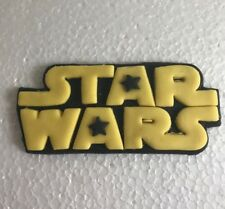 1 STAR WARS PLAQUE edible sugar  cup cake decorations toppers