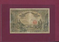 Portugal PORTUGUESE 10000 REIS 1910 P-108 FINE Rare