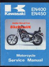 Kawasaki EN450 (85-90) Factory Service Manual 454 LTD EN 450 (KLE GPZ 500) BT68