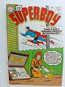 SUPERBOY #93  VF  8.0 Very Fine  condition 1961 Silver Age DC scarce high grade