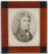 "Charles Backofen ""Portrait of Karl Bischof"", drawing, 1840s"
