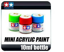 Tamiya Acrylic Paint 10ml Bottle (Full Colour Range Available - Flat & Gloss)