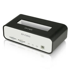 USB 2.0 Hard drive HDD Docking Station eSATA