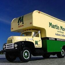 Very Rare - MARTIN MOVING Auburn IN. 1957 International Moving Van -  First Gear