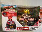 Carrera RC Mario Kart - Peach Quad Pneumatic Tires, All Roads Racing Buggy Car