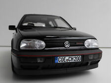 VW Golf III GTi 20 years 1996 1/18 NOREV 188415 Volkswagen MKIII Mark 3 GTI Black