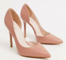 Glamorous Pink Court Shoes Size 6 - New In Box