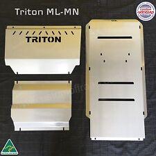 Mitsubishi Triton Front, Diff & Trans Bash Plates Underbody Protection ML - MN