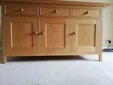Marks & Spencer 3 Door/3 Draw Solid Oak Sideboard - Excellent Condition