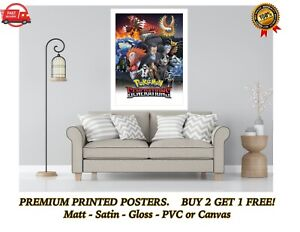 Pokemon Generations Large Poster Art Print Gift A0 A1 A2 A3 A4